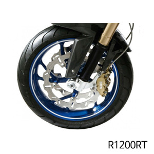 분덜리히 R1200RT Wheel rim stickers - white