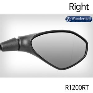 분덜리히 R1200RT Mirror glass expansion SAFER-VIEW - right 크롬