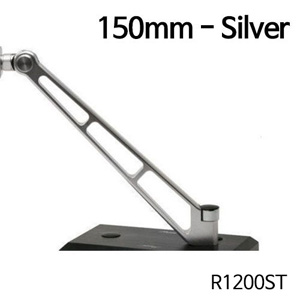 분덜리히 R1200ST MFW Naked Bike aluminium mirror stem - 150mm 실버