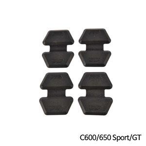 분덜리히 BMW C600/C650 Sport/GT 케이스 프로텍트 패드 4개