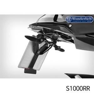 분덜리히 S1000RR Number plate carrier Legere Vario 블랙