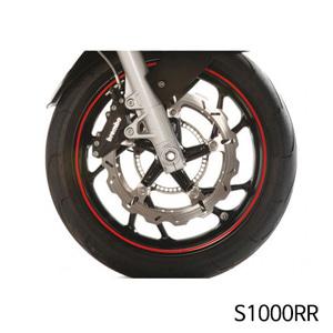 분덜리히 S1000RR Wheel rim stickers - red