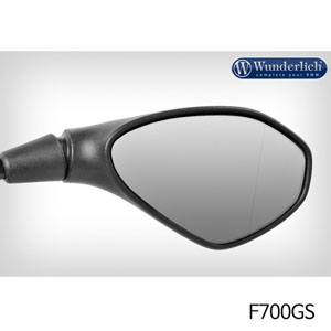 분덜리히 F700GS Mirror glass expansion ?SAFER-VIEW - right 크롬색상