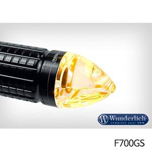 """분덜리히 F700GS Motogadget """"m-Blaze cone"""" indicator 좌측용 블랙색상"""