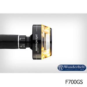 """분덜리히 F700GS Motogadget """"m-Blaze Disc"""" indicator 좌측용 블랙색상"""
