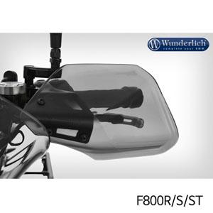 분덜리히 F800R 핸들가드 CLEAR PROTECT 스모크그레이색상