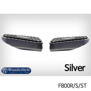 분덜리히 F800R S ST MFW Vario rest system footrest MultiGrip (pair) 실버색상