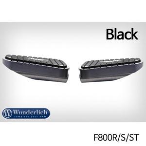 분덜리히 F800R S ST MFW Vario rest system footrest MultiGrip (pair) 블랙색상