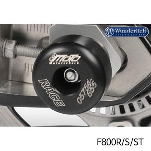 분덜리히 F800R 리어 휠 프로텍터 슬라이더 블랙색상