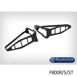 분덜리히 F800R/S/ST 깜빡이 보호 가드 롱타입 프론트 셋트 블랙색상