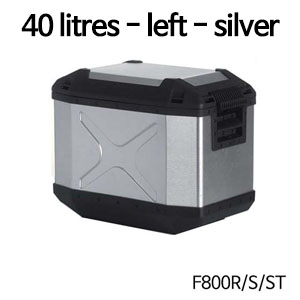분덜리히 F800S ST Krauser Xplorer aluminium single case 40 litres 좌측 실버색상