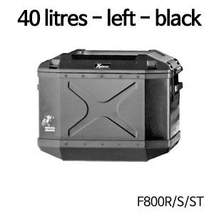 분덜리히 F800S ST Xplorer case | 40 litres 좌측 블랙색상