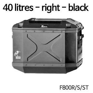 분덜리히 F800S ST Xplorer case | 40 litres 우측 블랙색상