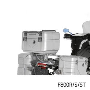 분덜리히 F800R(-14) S ST Hepco & Becker GOBI 탑케이스 42 실버색상