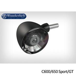 분덜리히 BMW C600 C650 Sport GT Kellerman Bullet 1000 (piece) - 프론트 블랙색상