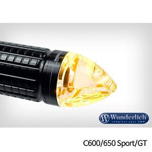 분덜리히 BMW C600/C650 Sport/GT Motogadget m-Blaze cone indicator - 우측 블랙색상