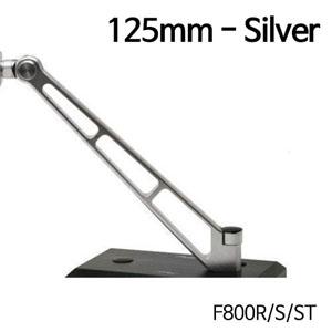 분덜리히 F800R MFW Naked Bike mirror stem - 125mm 실버색상