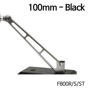 분덜리히 F800R MFW Naked Bike mirror stem - 100mm 블랙색상