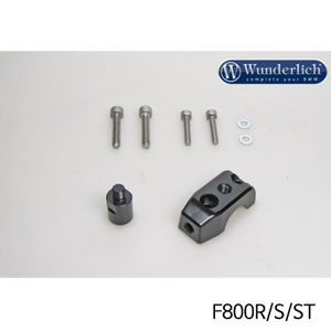 분덜리히 F800S ST Mirror clamp for additional mirror (Set) 블랙색상