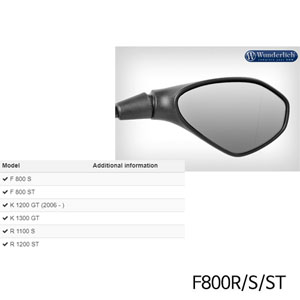 분덜리히 F800R S ST Mirror glass expansion SAFER-VIEW 우측 크롬색상 chromed