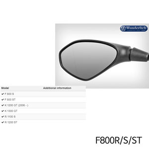 분덜리히 F800R S ST Mirror glass expansion SAFER-VIEW 좌측 크롬색상
