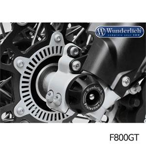 분덜리히 F800GT 프론트 포크슬라이더 DOUBLESHOCK 블랙색상