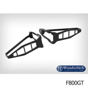분덜리히 F800GT 깜빡이 프로텍션 long - Set 블랙색상