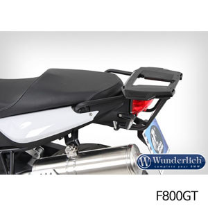 분덜리히 F800GT Topcase carrier Alu Rack 블랙색상