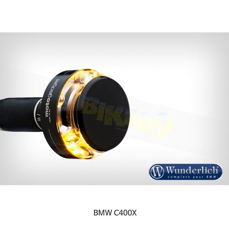 """분덜리히 BMW 모토라드 C400X Motogadget """"mo.blaze Disc"""" 인디케이터 (우측용) - 블랙 색상 36342-302"""