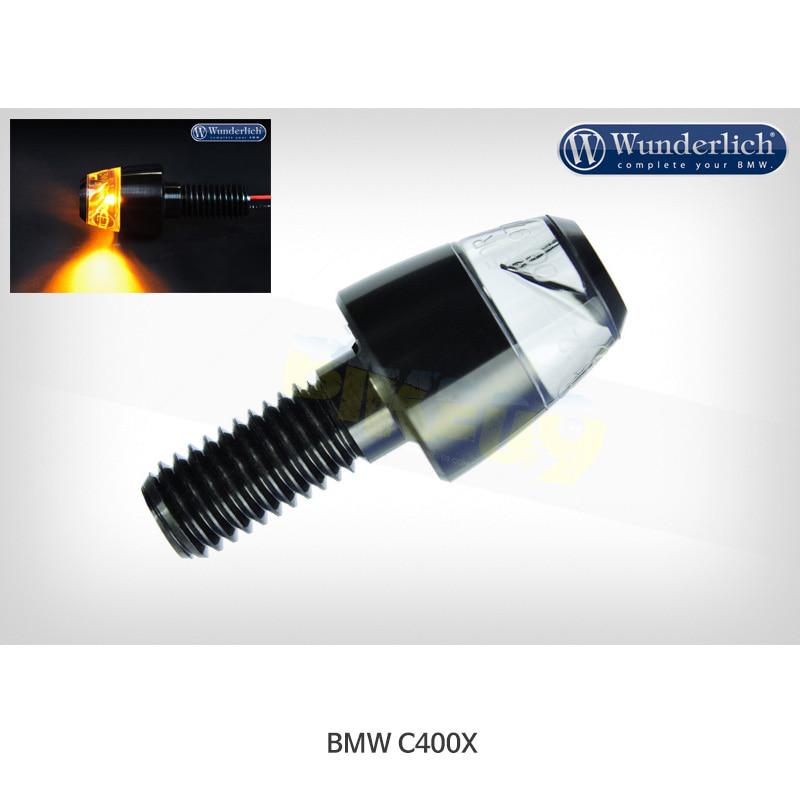 분덜리히 BMW 모토라드 C400X Motogadget mo.blaze Pin 인디케이터 (피스) - 블랙 색상 36342-702