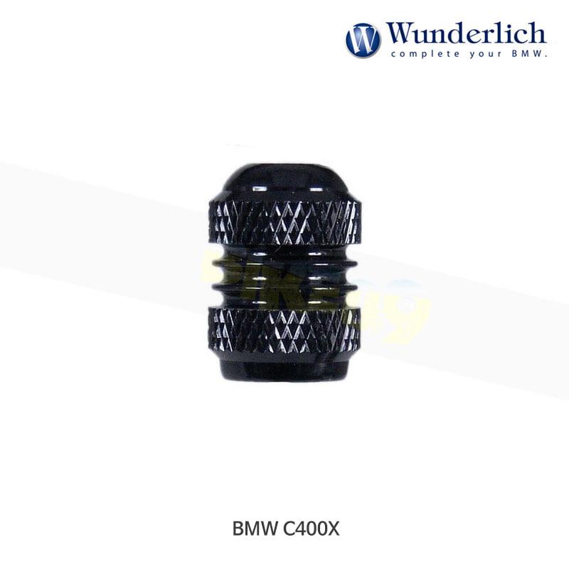 분덜리히 BMW 모토라드 C400X 스탠다드 밸브캡 세트 - 블랙 색상 23180-003