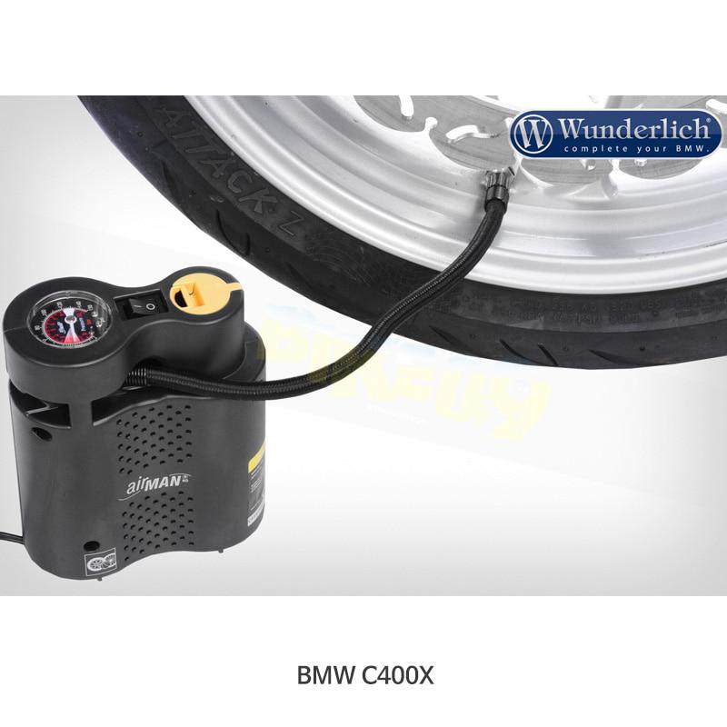 분덜리히 BMW 모토라드 C400X AIRMAN 압축기 12V - 블랙 색상 20080-000