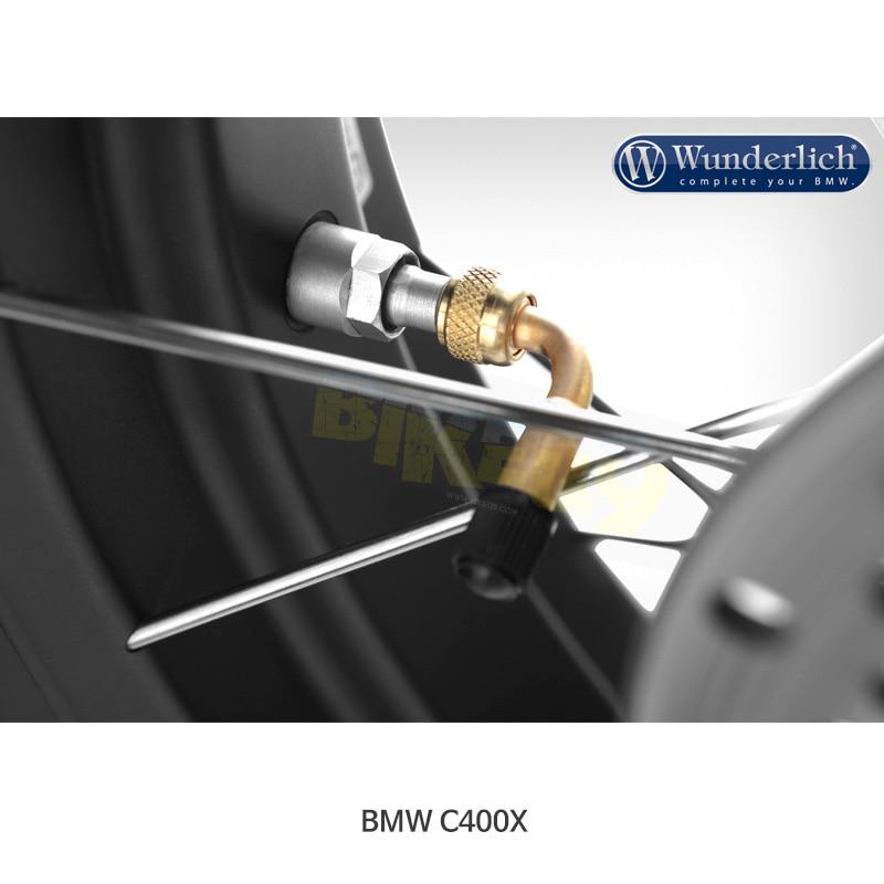 분덜리히 BMW 모토라드 C400X 90° 밸브 스템 어댑터 20010-000