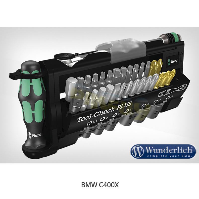 분덜리히 BMW 모토라드 C400X Wera Tool-Check PLUS, 39-part. 41882-000