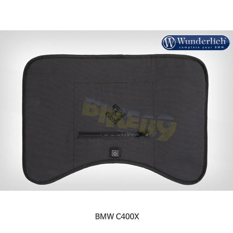분덜리히 BMW 모토라드 C400X Gaucho 발열 시스템 & Thermoscud 다리 덮개 (범용) - 블랙 색상 45301-002