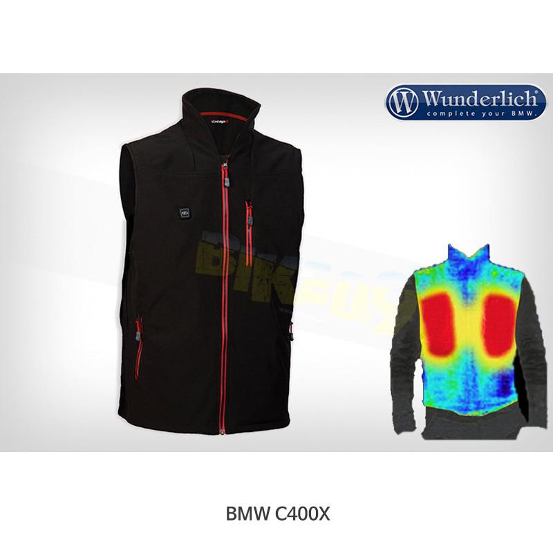 분덜리히 BMW 모토라드 C400X WarmMe E-Vest 가열 조끼 (리튬배터리 및 충전기 포함) 42790-302