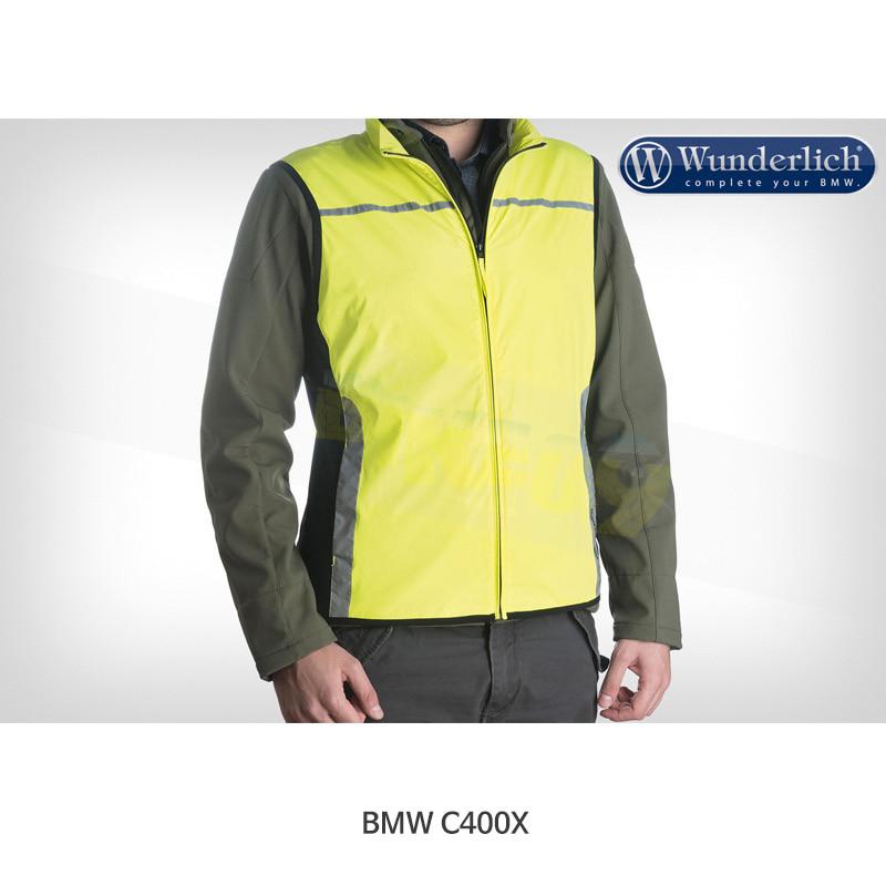 분덜리히 BMW 모토라드 C400X Tucano Urbano NANO REFLEX 방풍 안전 조끼 46001-039