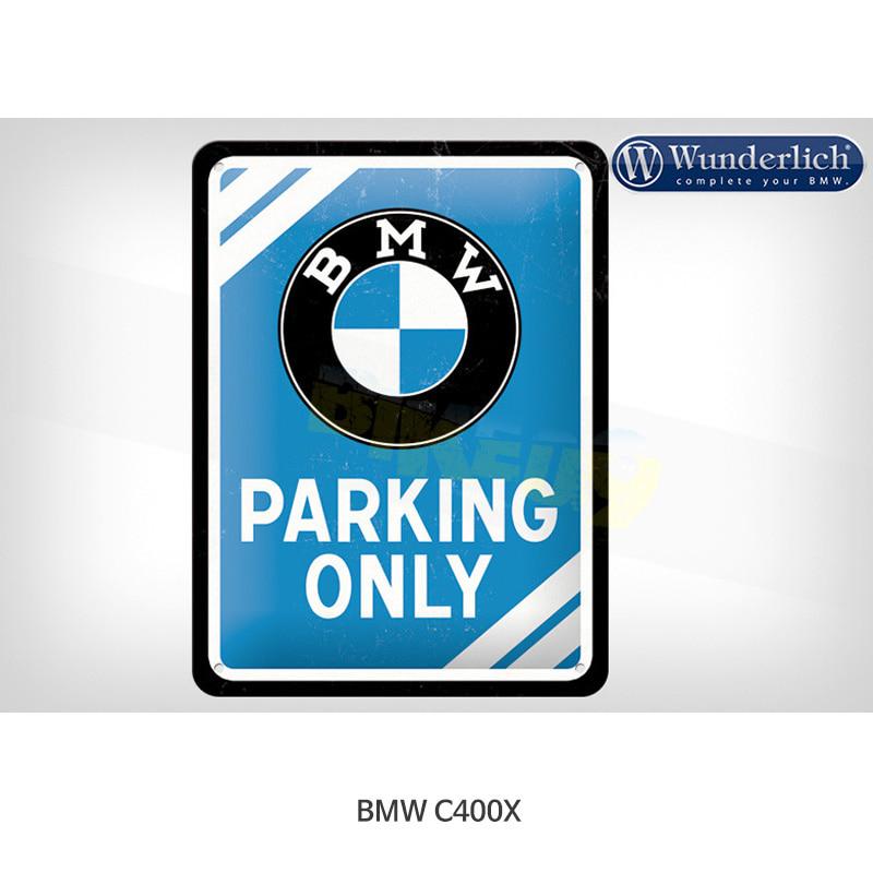 분덜리히 BMW 모토라드 C400X BMW 전용 메탈 주차 표시판 15x20cm - Nostalgic Art 25320-700