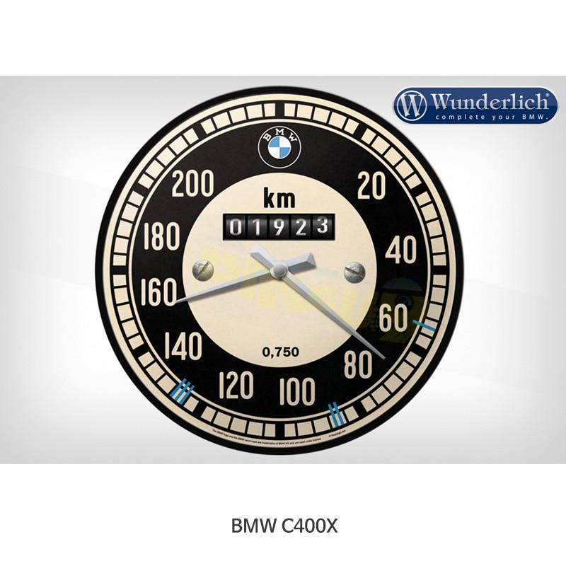 분덜리히 BMW 모토라드 C400X BMW 속도계 벽시계 - Nostalgic Art 25320-102