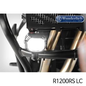 분덜리히 안개등 R1200RS LC Micro Flooter LED auxiliary headlight - crash bar mounting 블랙
