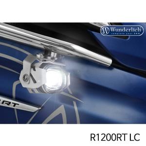 분덜리히 안개등 R1200RT LC LED additional headlight Micro Flooter for tank bars 실버