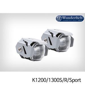분덜리히 안개등 K1200 K1300S R Sport Micro Flooter LED auxiliary headlight - crash bar mounting 실버