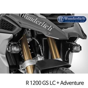 분덜리히 안개등 R1200GS LC R1200GS어드벤처 MicroFlooter LED auxiliary headlight 블랙