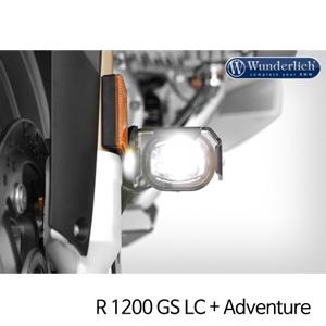분덜리히 안개등 R1200GS LC R1200GS어드벤처 LED additional headlight LED ?MicroFlooter 블랙