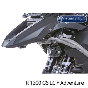 분덜리히 안개등 R1200GS LC R1200GS어드벤처 Conversion kit BMW mount to LED MicroFlooter 블랙
