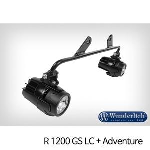 분덜리히 안개등 R1200GS LC R1200GS어드벤처 Mounting kit auxiliary lamps for tank protection bar 블랙