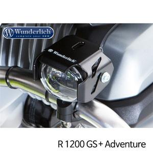 분덜리히 안개등 R1200GS 어드벤처 Conversion kit to addiitional LED-Headlights 블랙