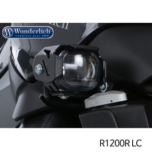 분덜리히 안개등 R1200R LC MicroFlooter LED auxiliary headlight R 1200 R LC 블랙