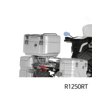 분덜리히 R1250RT Hepco, Becker GOBI Topcase 42 silver