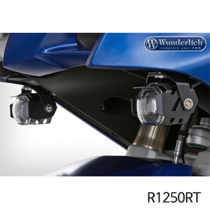 분덜리히 R1250RT LED additional headlight MicroFlooter R1200/1250RT LC black